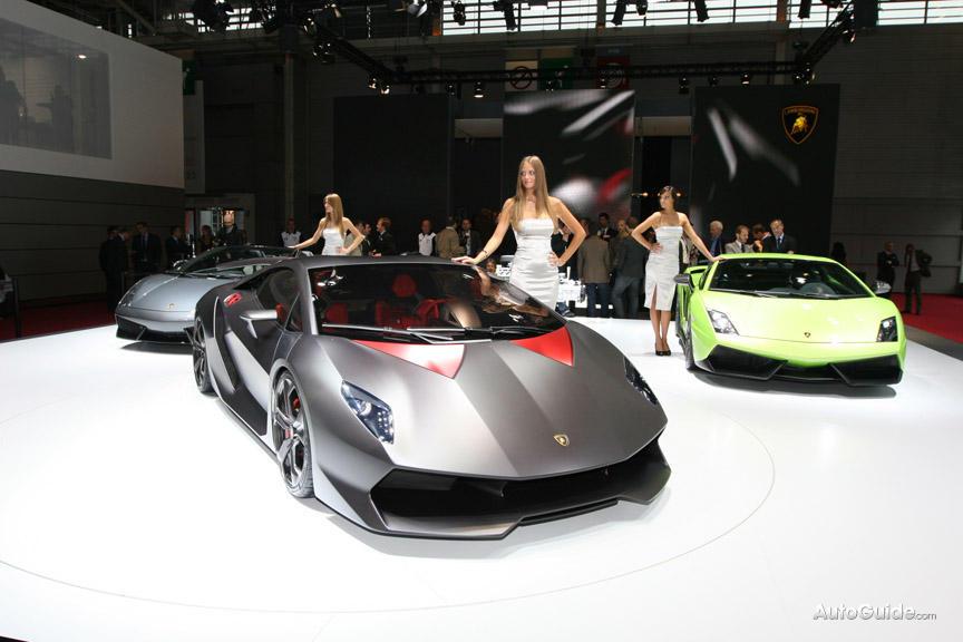 [live Images Source: AutoGuide]. Lamborghini Sesto Elemento ...