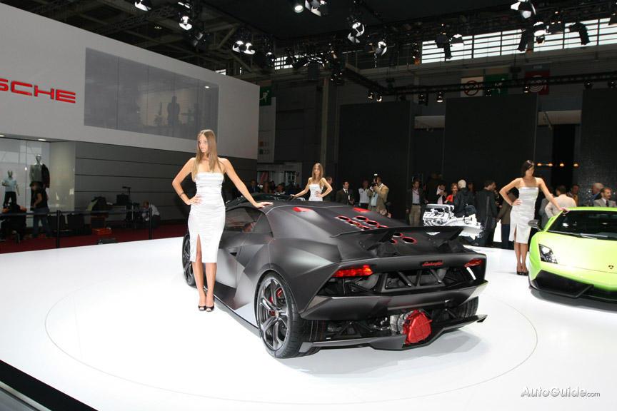 Lamborghini Sesto Elemento Speedometer Traffic Club