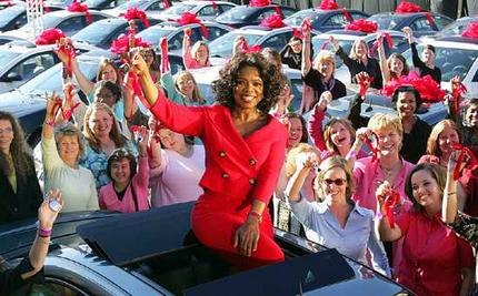 Oprah To Give Away Chevrolet Traverse Crossovers In Final Season Kick-Off