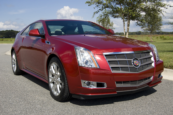 2011 Cadillac Cts Coupe Angle Front