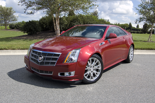 2011 Cadillac CTS Coupe Review & Test Drive