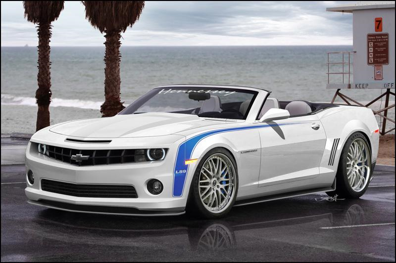 2011 Hennessey HPE700 Camaro Convertible Revealed w/755HP