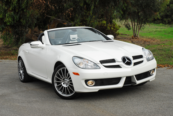 2011 mercedes benz slk300 diamond white edition review for Mercedes benz slk300