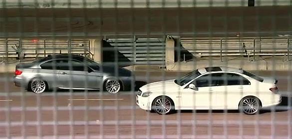 Fifth Gear Video: BMW E92 M3 vs. Mercedes Benz C63 AMG