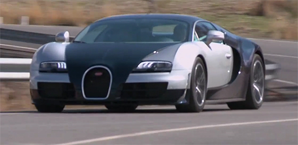 Video: Autocar Drives Bugatti Veyron Super Sport