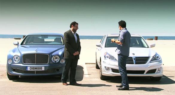 Motor Trend Comparison Video: 2011 Hyundai Equus vs. 2011 Bentley Mulsanne