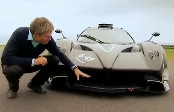 Video: Fifth Gear Test Drives Pagani Zonda R