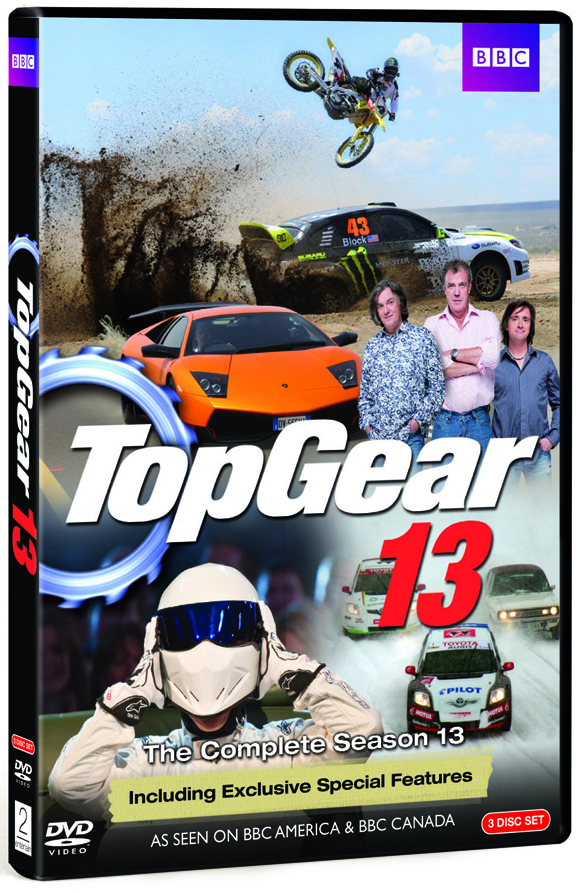 Now available on DVD: Top Gear Season 13