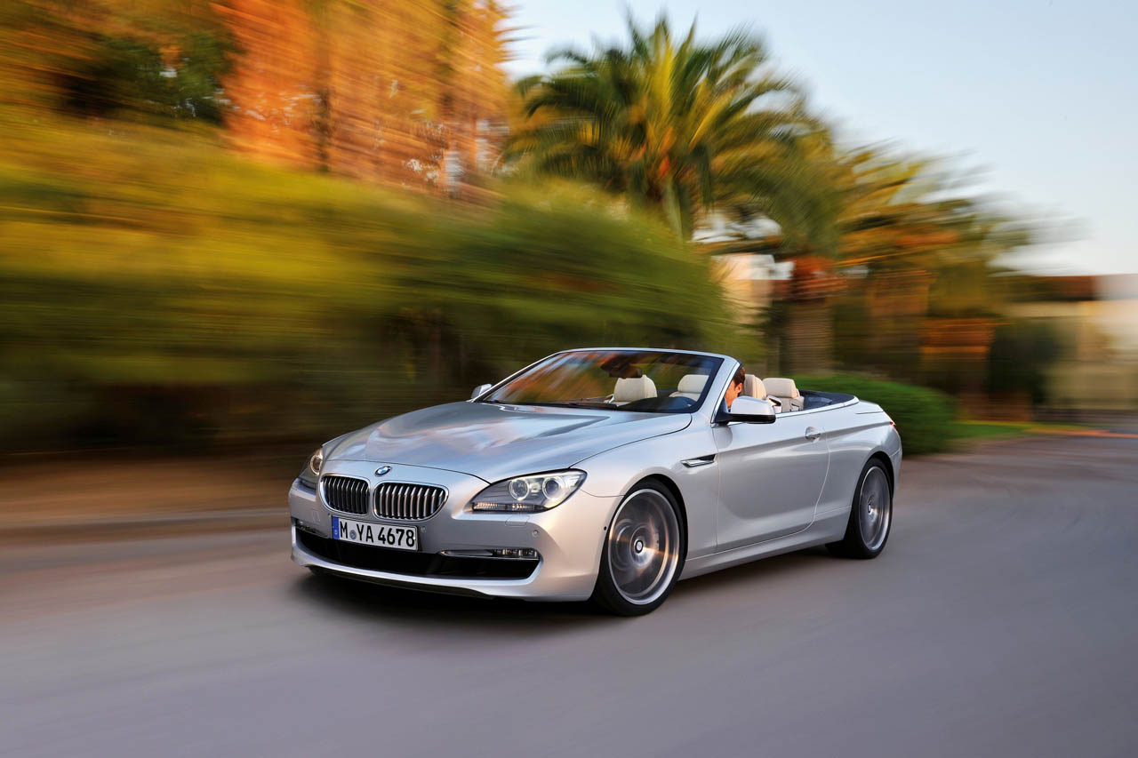 2012 BMW 6-Series (650i) Convertible Breaks Cover