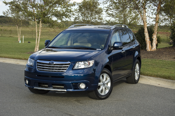2011 subaru tribeca touring review test drive. Black Bedroom Furniture Sets. Home Design Ideas