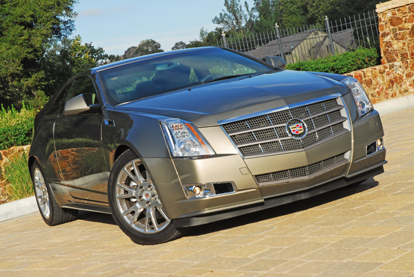 From Concept To Showroom Floor: 2011 Cadillac CTS Coupe Review – Second Drive