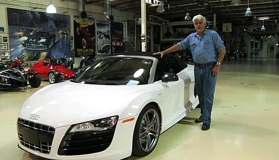 In Jay Leno's Garage: 2011 Audi R8 Spyder 5.2 V10 FSI Quattro