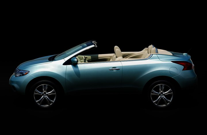 Nissan To Introduce 2011 Nissan Murano CrossCabriolet: World's First AWD Crossover Convertible