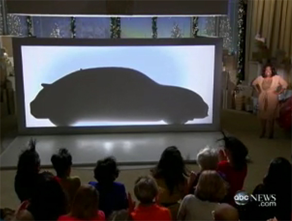 Oprah Introduces and Gives Away 2012 VW Beetle On 2nd 'Favorite Things' Episode