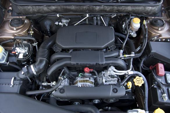 subaru upper engine cleaner instructions