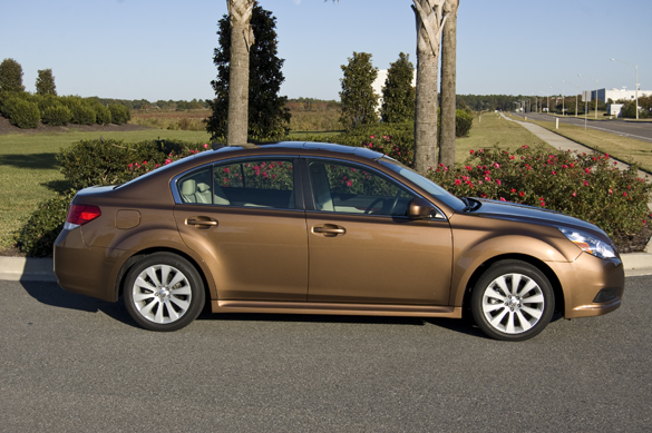 2011 subaru legacy 2 5 limited review test drive. Black Bedroom Furniture Sets. Home Design Ideas