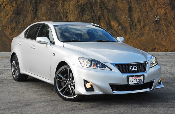 2011 Lexus IS 350 F-Sport Review & Test Drive