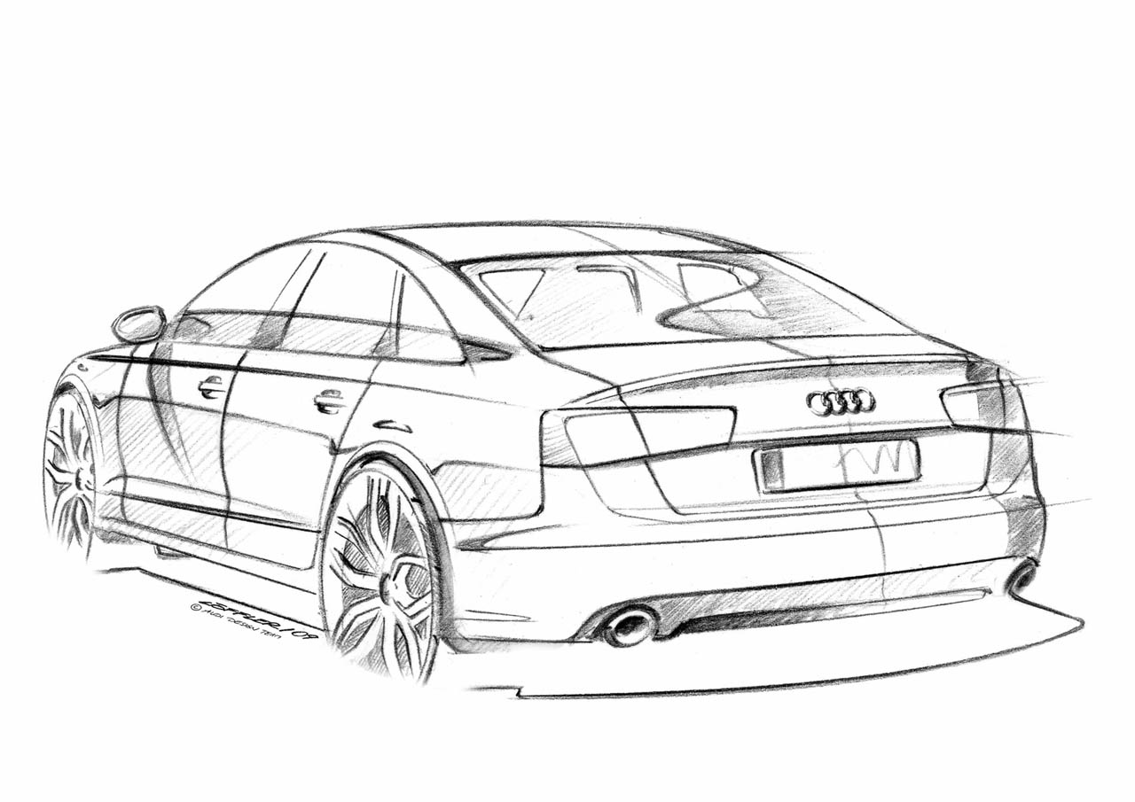 100 hot cars  u00bb audi a6 supercharged