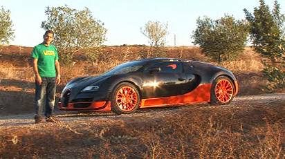 Bugatti Veyron Super Sport Road Test by EVO's Chris Harris Part 1