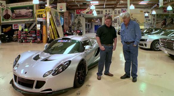 1200HP 2011 Hennessey Venom GT In Jay Leno's Garage