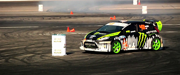 Video: Ken Block's Gymkhana Grid Premier – Irwindale, CA