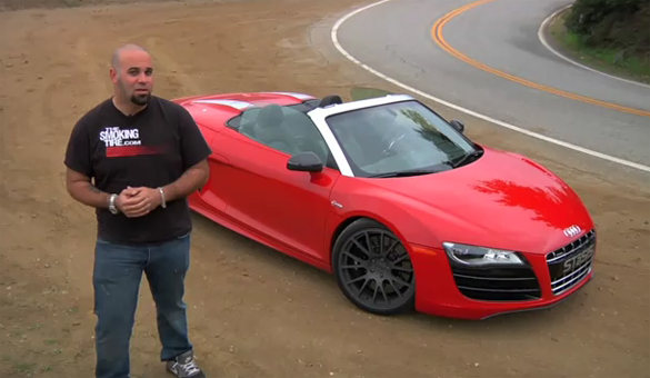 The Smoking Tire Drives 710hp STaSIS Engineering Audi R8 V10 Spyder