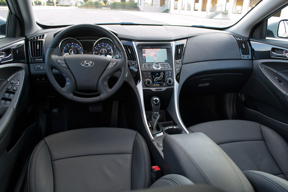 Driving The 2011 Sonata Turbo Limited ...
