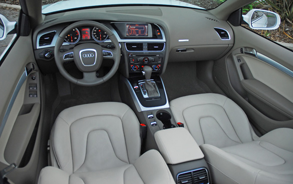 Audi A5 2011 Black. The A5 cabriolet is one of the