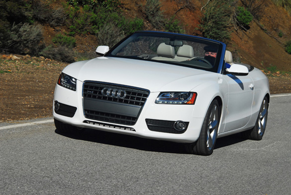2011 Audi A5 2.0T FSI Quattro Tiptronic Cabriolet Review & Test Drive
