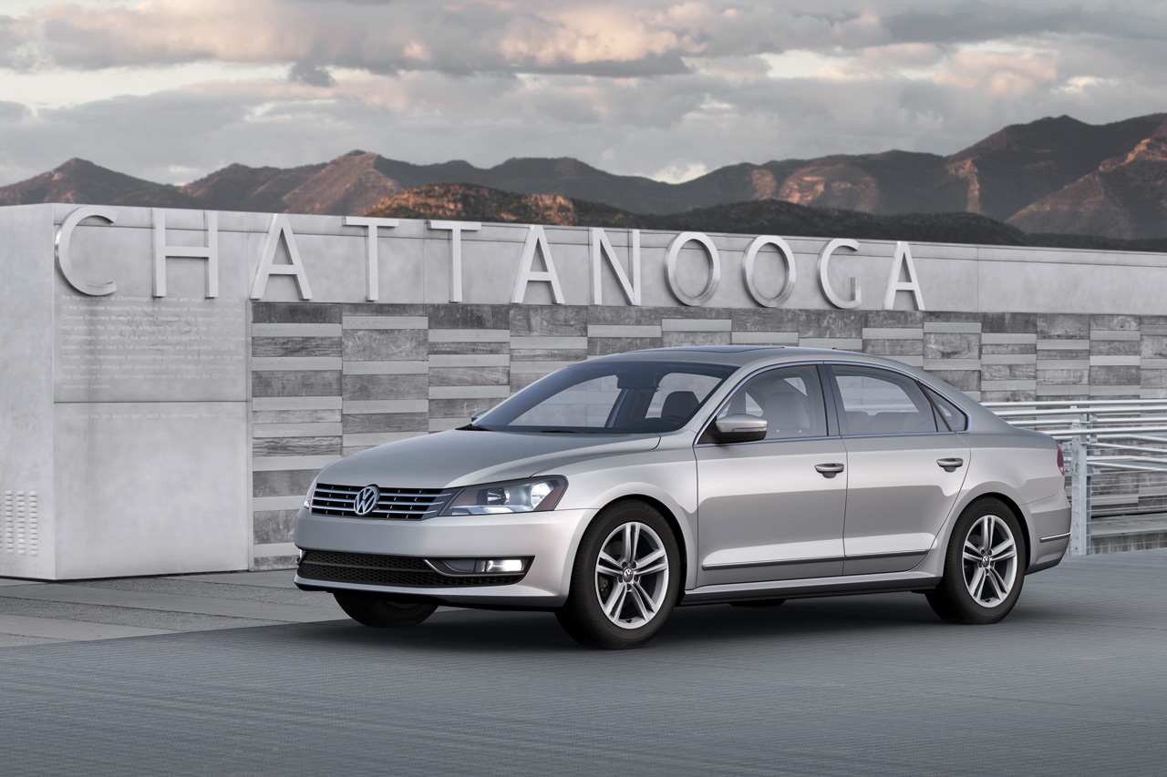 2012 Volkswagen Passat Revealed
