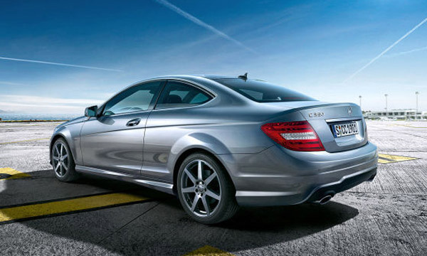 2012 Mercedes-Benz C-Class Coupe First Official Images Leaked
