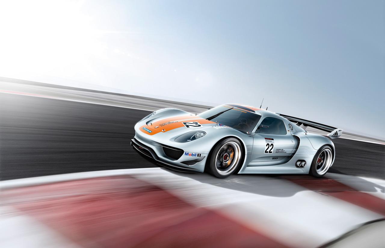 Videos: 2013 Porsche 918 RSR Revealed