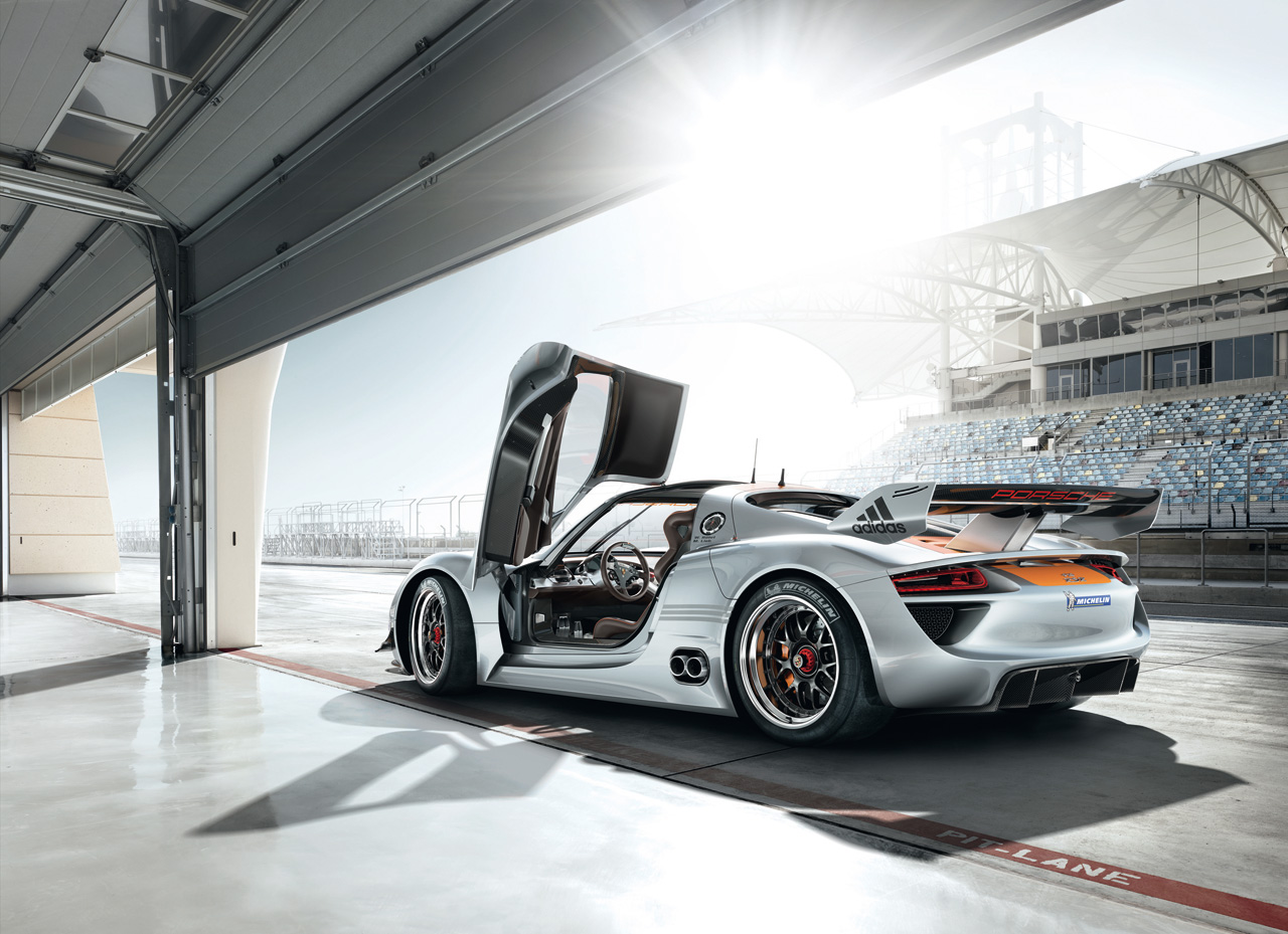 Check out the Porsche 918 RSR