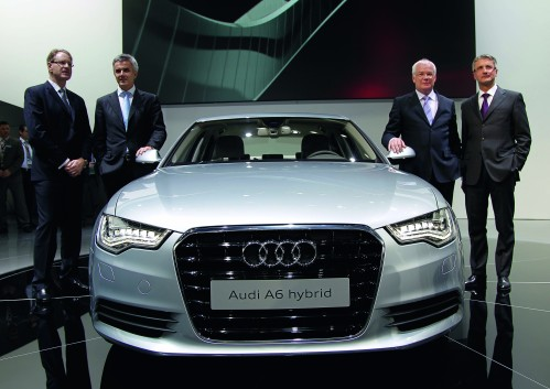 Audi's A6 Hybrid Was Designed For The U.S. Market