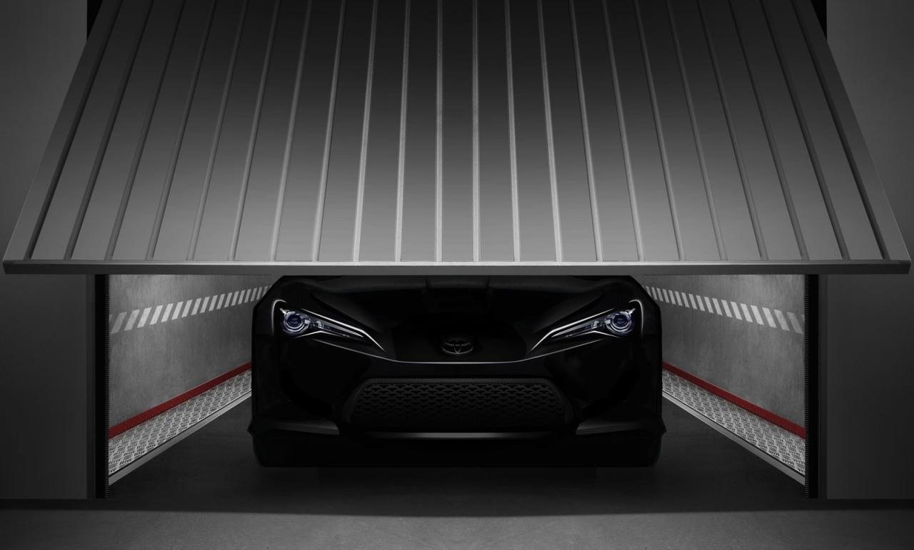 Toyota FT-86 II Concept Teaser Photo Released