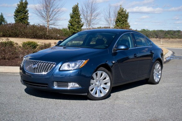 2011 buick regal cxl turbo review test drive. Black Bedroom Furniture Sets. Home Design Ideas