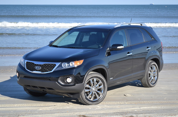 2011 Kia Sorento EX V6 AWD Review & Test Drive