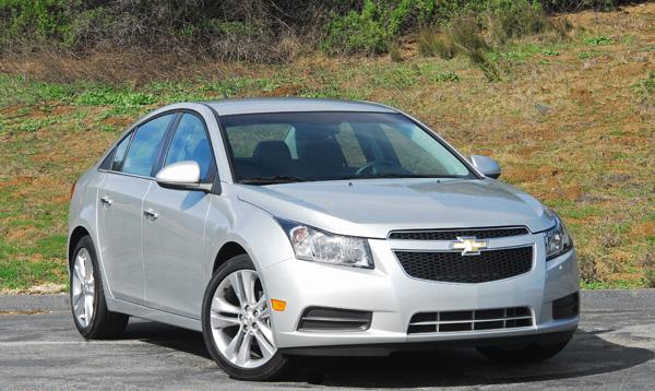 2011 Chevrolet Cruze LTZ Review & Test Drive