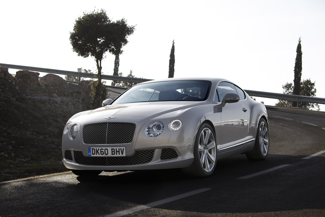 2012 Bentley Continental GT Details Leaked