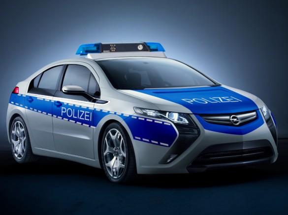 Opel Ampera Police