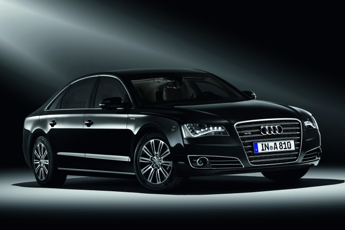 Audi's A8 L Security: Mr. Bond, Your Limo Is Here