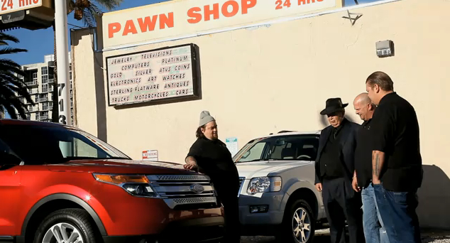 The 'Pawn Stars' Crew On The 2011 Ford Explorer