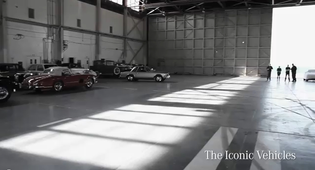 The Cars of Mercedes-Benz's 'Welcome' Ad