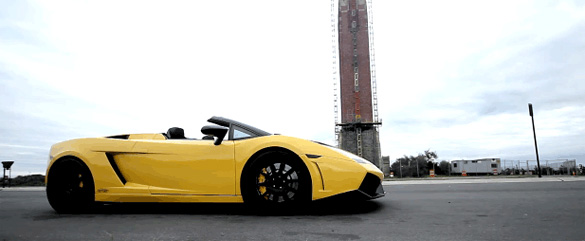 Heffner Twin Turbo Lamborghini Gallardo Spyder Acceleration Video
