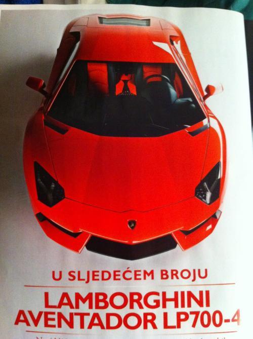 Lamborghini Aventador LP700-4 Image Leaked From Magazine