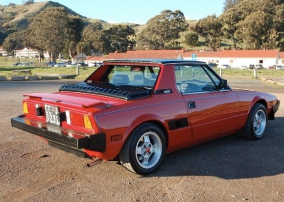 100 Hot Cars 187 Fiat X1 9