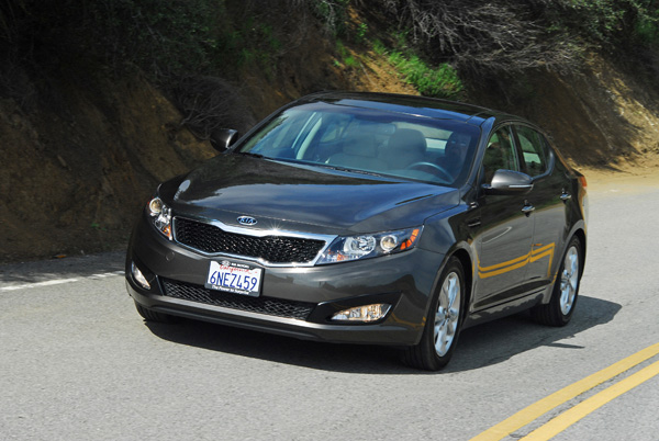 2011 Kia Optima EX Review & Test Drive