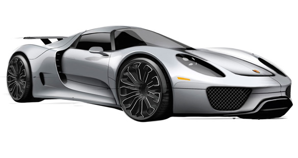 Porsche 918 Spyder Production Confirmed – Priced at $845,000