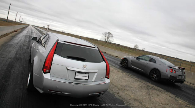 What's Faster: A Nissan GT-R Or A Station Wagon?