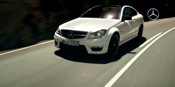New Mercedes-Benz C63 AMG Coupe Promotional Videos